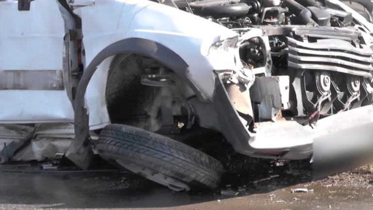 Тежка кастрофа с жертва на пътя Монтана - Ерден