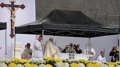 Папата призова за единство на католици и лутерани в Швеция