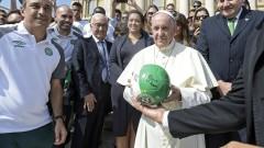 Папата се моли за мир в Конго и Южен Судан