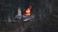 Симулация на самолетна катастрофа разиграха край Стара Загора