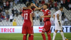 Сърбия победи Молдова с 3:0