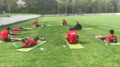 Подготовката в ЦСКА за бой над Левски започна