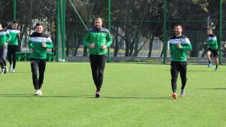 Последна тренировка за Нефтохимик преди мача с Атлетик