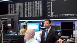 Европейските борси отново тръгнаха надолу
