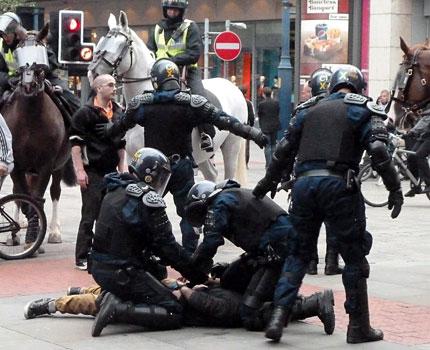 Британската полиция шокирана от насилието