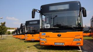 Столичният транспорт получи първите 70 нови китайски автобуси