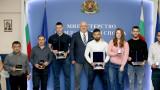 Министър Кралев награди българските щангисти за спечелените 17 медала от Европейското първенство за младежи и девойки