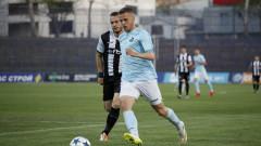 Дунав - Локомотив (Пловдив) 1:0 (Развой на срещата по минути)