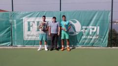 Мартин Димитров е шампион на Държавния турнир за мъже в Санта Марина
