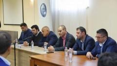 Коалиция с БСП и с ДПС не е обсъждана, категоричен Борисов