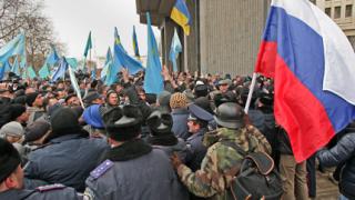 Новото правителство на Крим - интернационално