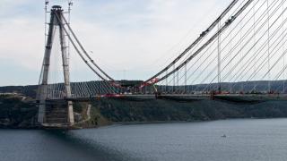 Ердоган направи финалната заварка на уникалния мост над Босфора