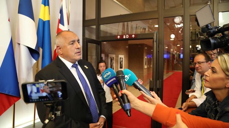 Борисов: ГЕРБ подкрепя Станишев за председател на парламента