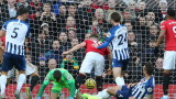 Манчестър Юнайтед победи Брайтън с 3:1 във Висшата лига
