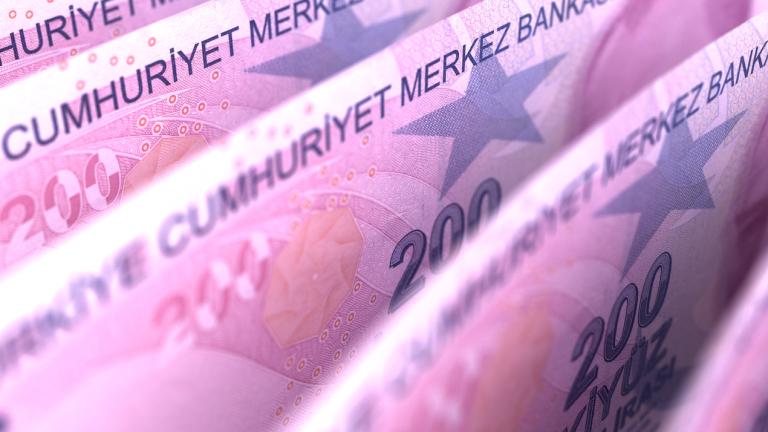 Турската лира с ново дъно - най-ниската стойност в историята спрямо долара
