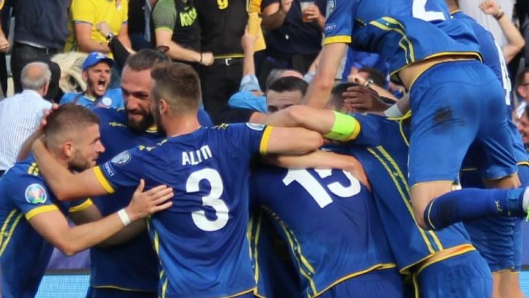 Съперникът на България в европейските квалификации по футбол - Косово