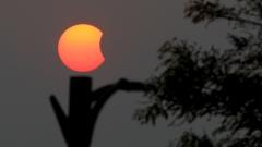 Индонезия осъмна с първото за годината слънчево затъмнение