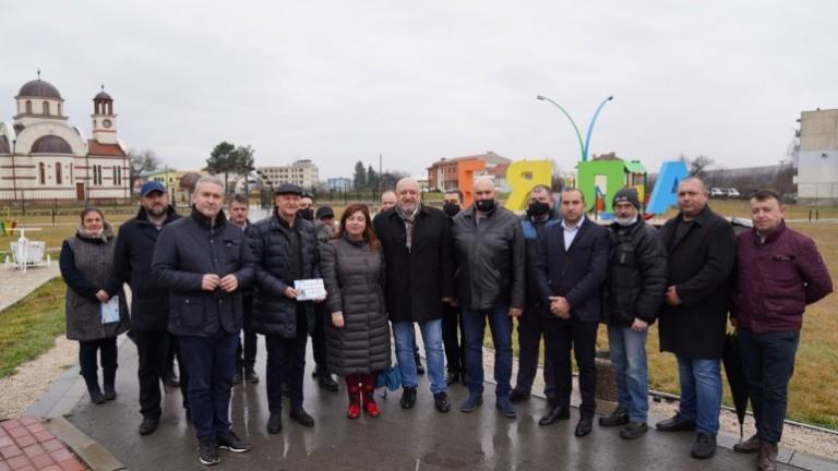 Министър Кралев откри изцяло обновената и модернизирана зала за лека атлетика в Русе