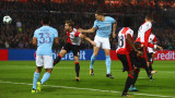 Фейенорд - Манчестър Сити 0:4: Тотално мачкане на Сити