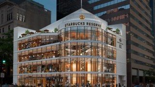 Starbucks отваря най-голямото си луксозно кафене в Чикаго
