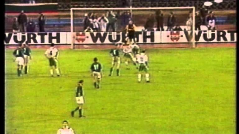 Точно преди 25 години на днешния ден нашият национален отбор
