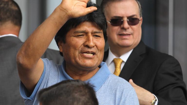 Бившият президент на Боливия Ево Моралес призова в сряда католическата