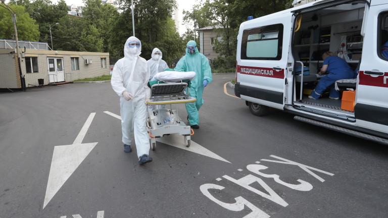 194 починали от COVID-19 за денонощие в Русия