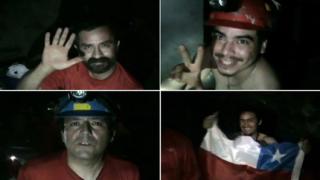 Достигнаха на 70 метра от затрупаните чилийски миньори