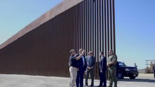 Тръмп: Ето прогреса на стената с Мексико
