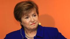 """Кристалина Георгиева вижда """"напълно обозримо"""" влизане на България в еврозоната"""
