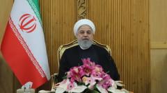 САЩ се опитват да свалят режима в Иран, предупреди Рохани