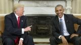 Обама и Тръмп се чуха по телефона