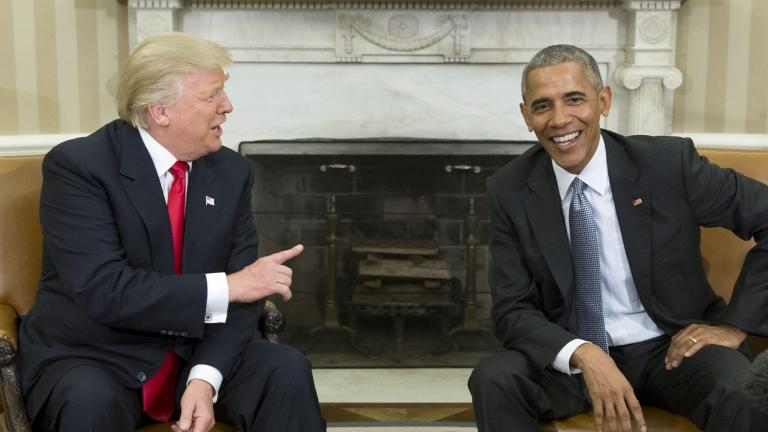 """Тръмп обвини """"лошия човек"""" Обама, че му подслушвал телефонните разговори"""