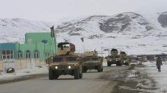 US военен самолет се е разбил в Афганистан