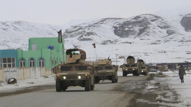 Американски военен самолет се е разбил в Източен Афганистан. Това