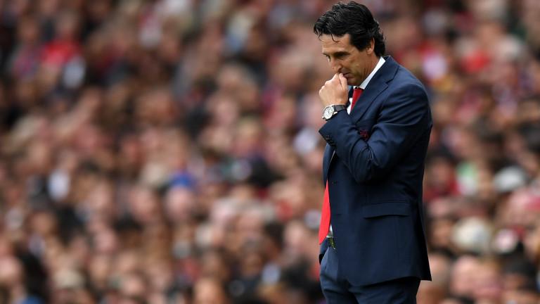 Емери: Притеснен съм за Арсенал, не трябва да бием само у дома