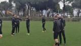 Фенове на Локомотив (Пловдив) изненадаха отбора в Турция
