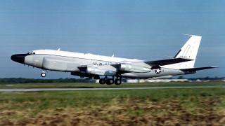 Разузнавателен самолет на САЩ засечен край бреговете на Крим
