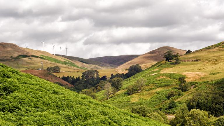 Вятърни турбини в Шотландия генерираха 9 831 320 мегават часа