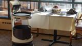 Роботите, Servi и каква е ролята на механизирания персонал в ресторант Roger
