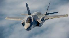 F-35 се разби в Япония