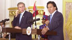 Бивш президент на Перу арестуван в САЩ