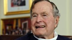 Състоянието на Джордж Буш - Старши се подобрява
