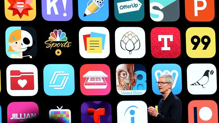Приходите на магазините за приложения на Apple и Google растат с 30%