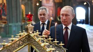 Путин отдаде почит на загиналите през ВСВ в нова голяма църква