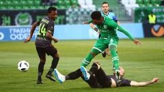 Лудогорец - Берое 0:0 (Развой на срещата по минути)