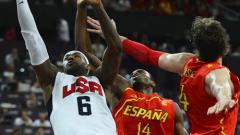 САЩ със златните медали в баскетбола