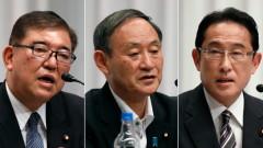 Говорителят на правителството на Япония Йошихиде Суга фаворит за премиер
