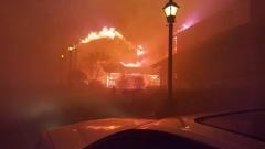 Горски пожари в щата Тенеси взеха 10 жертви, 45 души са били ранени