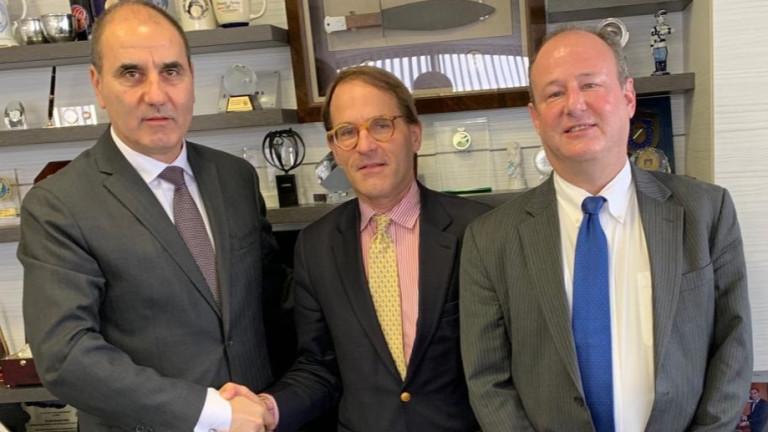 Цветанов и представители на САЩ затвърждават партньорството с България